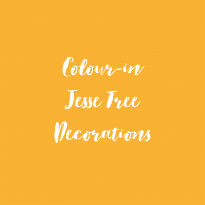 Colour-in Jesse Tree Downloads