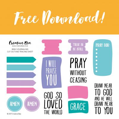 FREE BIBLE JOURNALING DOWNLOAD-june17