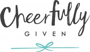 Cheerfully Given Logo