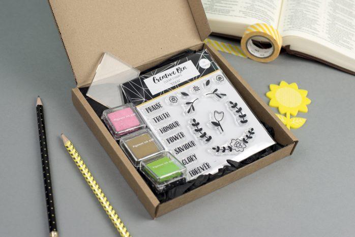 Eden Clear Christian Stamp Kit