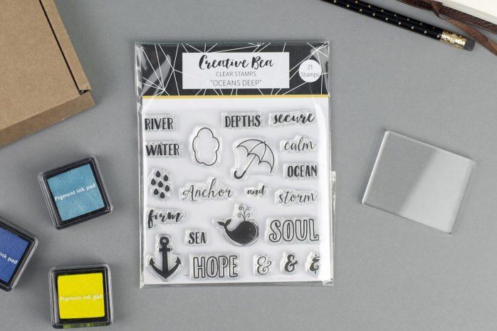 Oceans Deep Christian Stamps