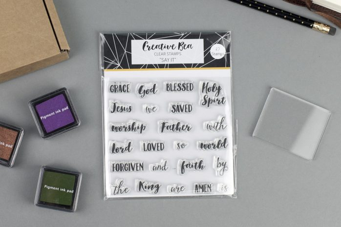 Say It Clear Christian Stamps