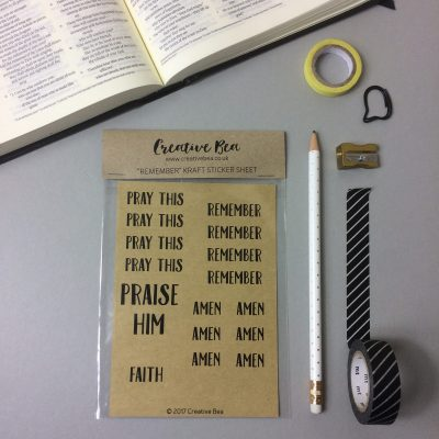 Bible journaling stickers