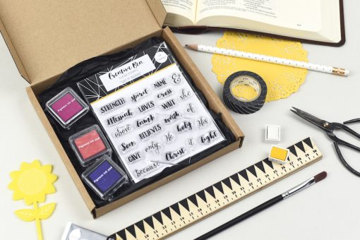 Say It Again Bible Journaling Stamps