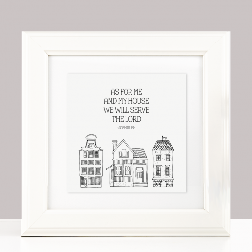 Bible Verse Housewarming Gift