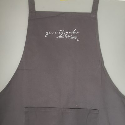 Christian Gift for Her - Grey Kitchen Apron