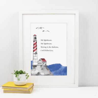 My Lighthouse Print
